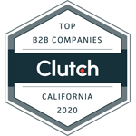 Clutch 2020 B2B Leader from California