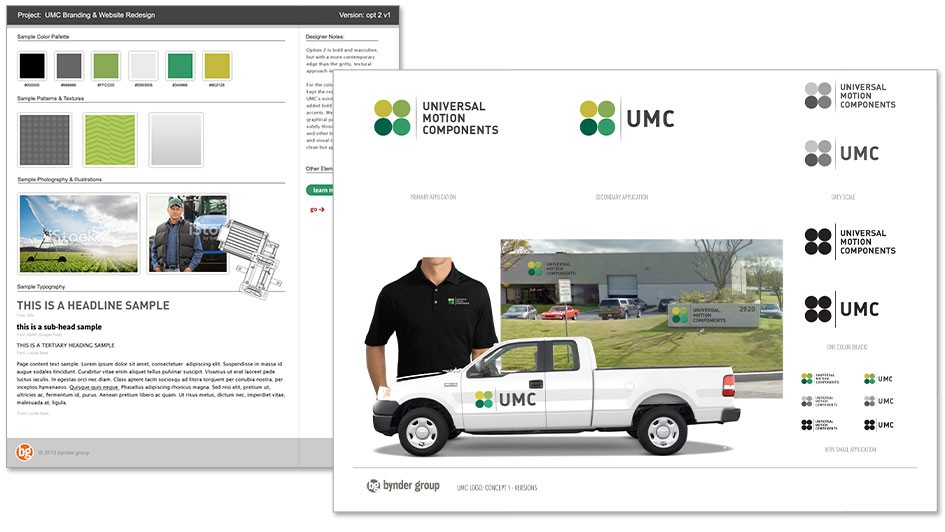 Brand Design for UMC by Bynder Group