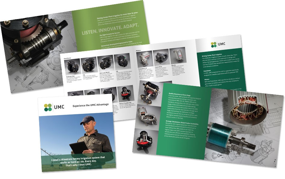 Marketing collateral for UMC by Bynder Group